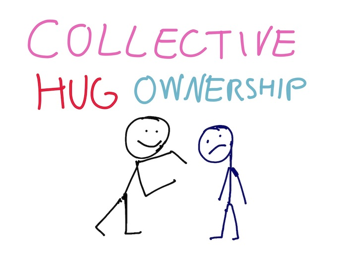 Collective hug ownership